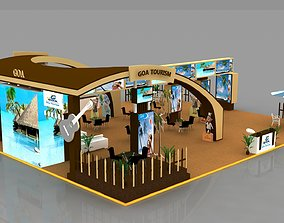 various-models Exhibition Booth 3D