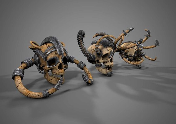 Armored Skulls Bundle