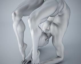3D printable model Man yoga 008