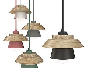 3D Pendant lamp ANZAZO ECO