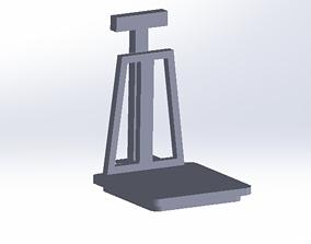 3D printable model Detailed weighbridge
