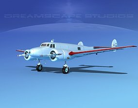 3D model Lockheed L10 Electra Amelia Earhart