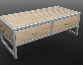 MILA COFFEE TABLE 3D asset