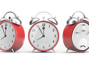 timer Classical Alarm Clock 3D model