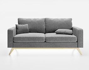 Sofa- scandinavian style- photorealist 3D model