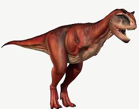 Carnotaurus 3D model realtime reptile