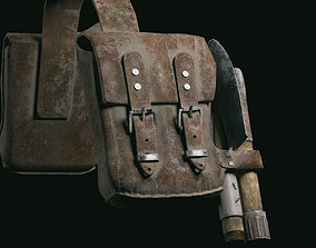 Bags two 3D asset