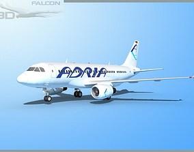 Falcon3D A319 Adria rigged
