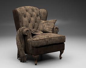 3D asset game-ready Armchair Tosconova Rebecca