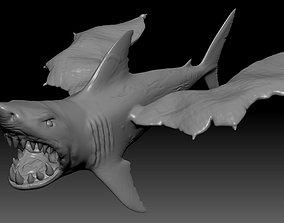 Flying shark 3D