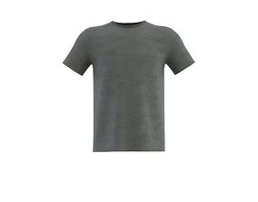 roundneck short sleeve t-shirt 3D