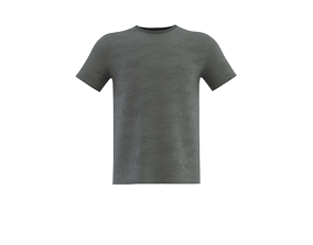 roundneck short sleeve t-shirt 3D
