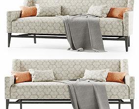 Trestle lounge sofa 3D model