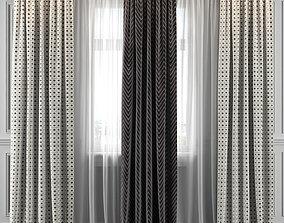 3D Curtain Set 322