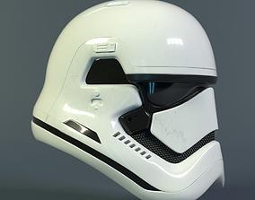Star Wars Stormtrooper helmet - First Order 3D asset