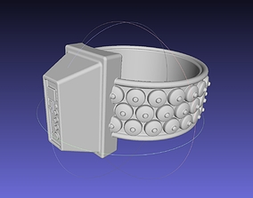 3D printable model ALIEN Spacesuit Armpiece Wristpiece