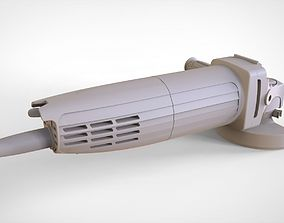Angle Grinder 3D model industrial