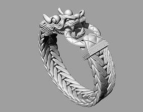 3D printable model Chinese Dragon Ring rings
