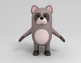 Cartoon Raccoon 3D