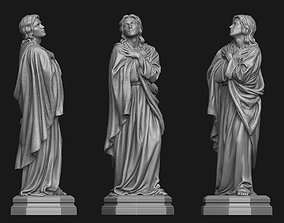 Saint John Statue 3D printable model