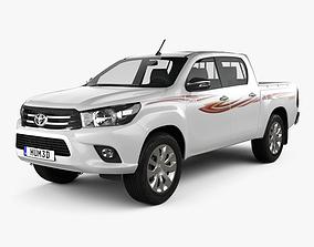 Toyota Hilux Double Cab GLX 2015 3D