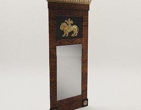 Biedermeier mirror - Berlin 1810 3D model