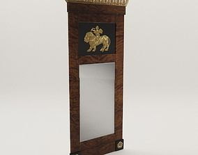 Biedermeier mirror - Berlin 1810 3D model