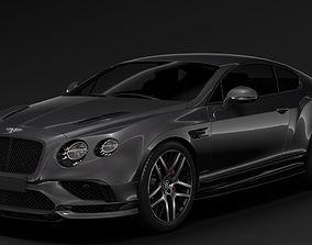 3D model Bentley Continental Supersport 2018