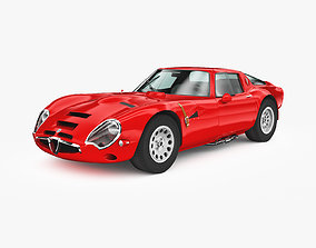 Alfa Romeo Giulia TZ2 1965 3D model