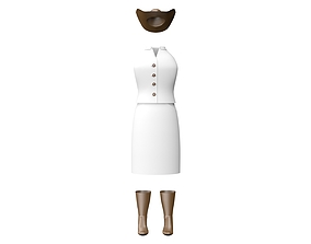 3D Formal Dress