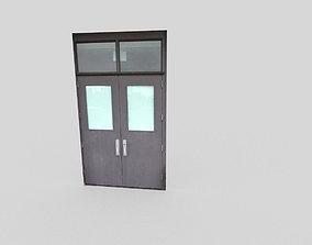 3D model low-poly low poly door key