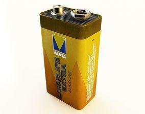Battery Type PP3 Varta 3D