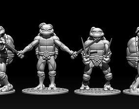 Teenage Mutant Ninja Turtles stl for 3D model