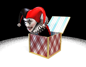 3D model Jack in the box