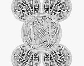 3D Celtic Ornament 19