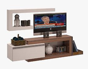 Tv Unit 008 3D model