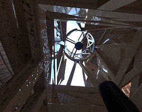 3D model Palomar Observatory