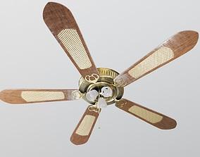 ceiling fan room 3D