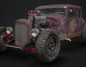 3D model PBR Hot Rod