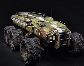 3D model Technical Vehicle transporter Source Files 2