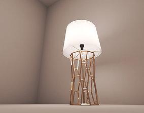 light 3D printable model honey comb lamp