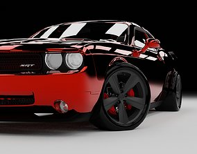 Dodge Challenger SRT 3D model sport