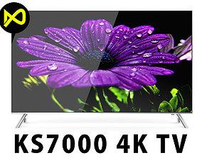Samsung KS7000 SUHD 4K TV Series 55 inch 3D model