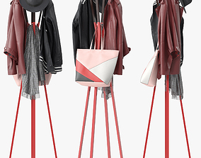 3D model Splash Coat Rack