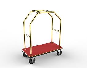 3D model Hotel Trolley 09