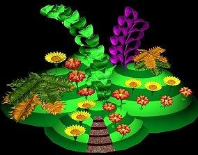 3D model Plantaion