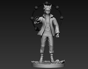 naruto six paths figurine 3d print dragon