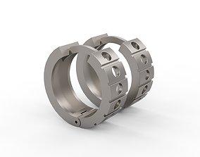3D printable model Ultra Vision Hard Heavy Unisex Earring