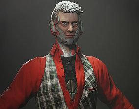 3D model Gunman