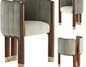 3D model Crawford Dining Chair